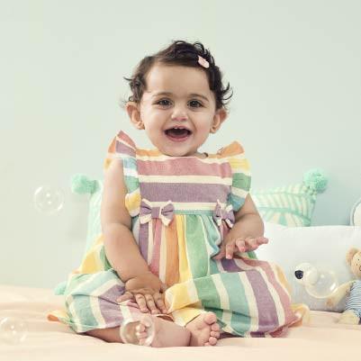 Baby girls 0-2 years